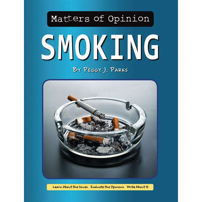 Matters Of Opinion Smoking, NW-9781603575829