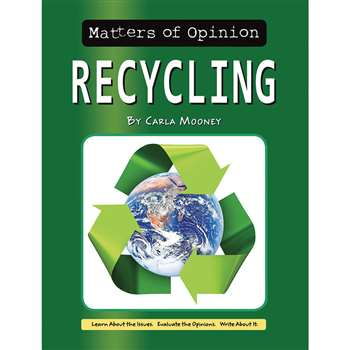 Matters Of Opinion Recycling, NW-9781603575836