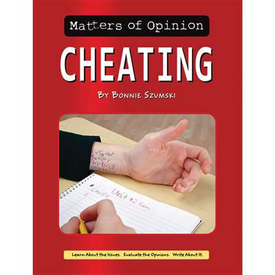 Matters Of Opinion Cheating, NW-9781603575850