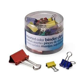 Officemate Assorted Binder Clips, OIC31026