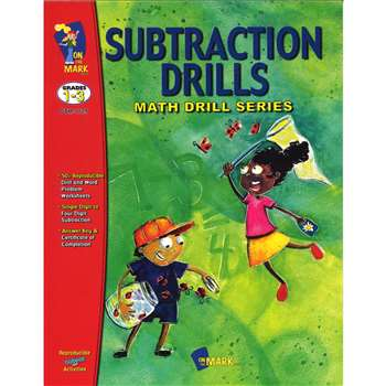 Subtraction Drills By On The Mark Press