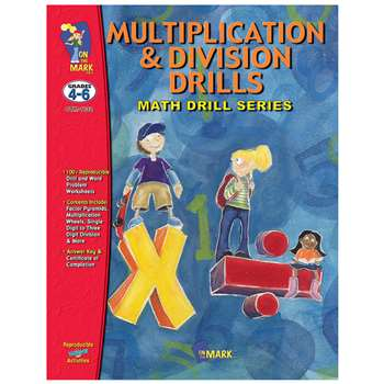Multiplication & Division Drills By On The Mark Press