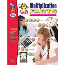 Timed Multiplication Facts By On The Mark Press