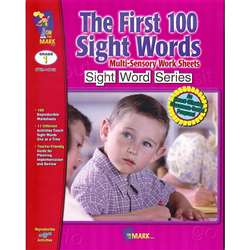 First 100 Sight Words By On The Mark Press