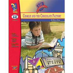 Charlie & The Chocolate Factory Lit Link Gr 4-6 By On The Mark Press