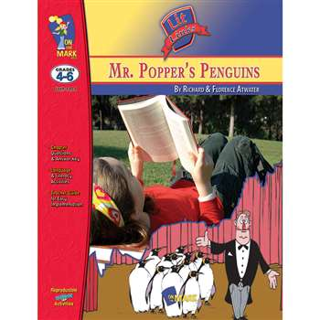 Mr Poppers Penguins Lit Link Gr 4-6 By On The Mark Press