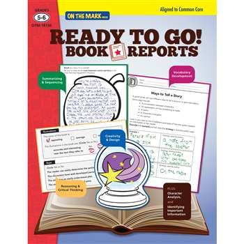 Ready To Go Book Reports Gr 5-6, OTM18130