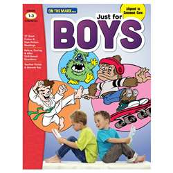 Just For Boys Gr 1-3 Reading Comprehension, OTM18132