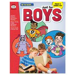 Just For Boys Gr 3-6 Reading Comprehension, OTM18133