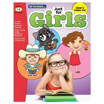 Just For Girls Gr 1-3 Reading Comprehension, OTM18135