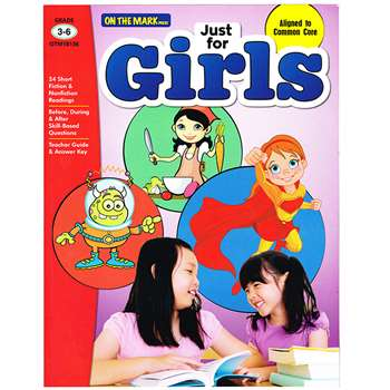 Just For Girls Gr 3-6 Reading Comprehension, OTM18136