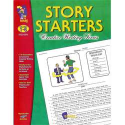 Story Starters Grades 1-6 By On The Mark Press
