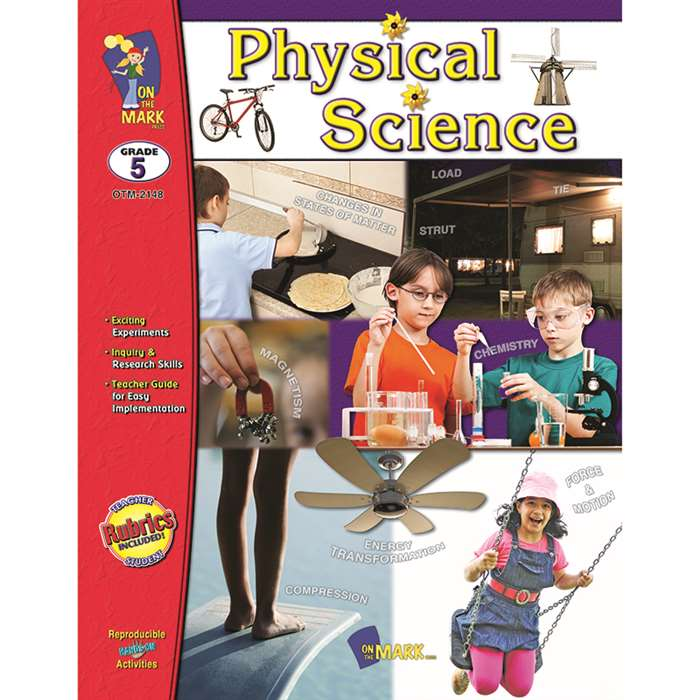 Shop Physical Science Gr 5 - Otm2148 By On The Mark Press