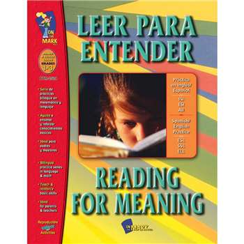 Leer Para Entender Reading For Meaning By On The Mark Press