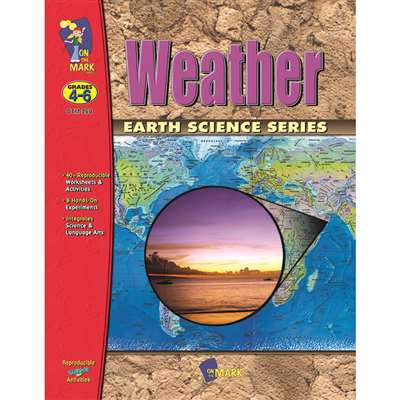 Weather Gr 4-6 By On The Mark Press
