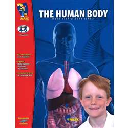 The Human Body Gr 4-6 By On The Mark Press