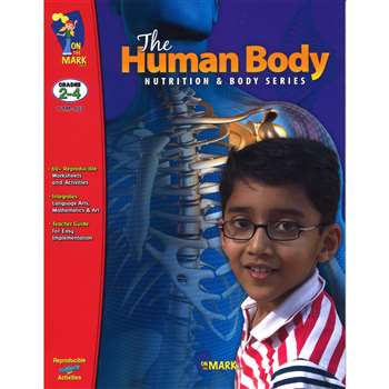 The Human Body Grades 2-4 By On The Mark Press