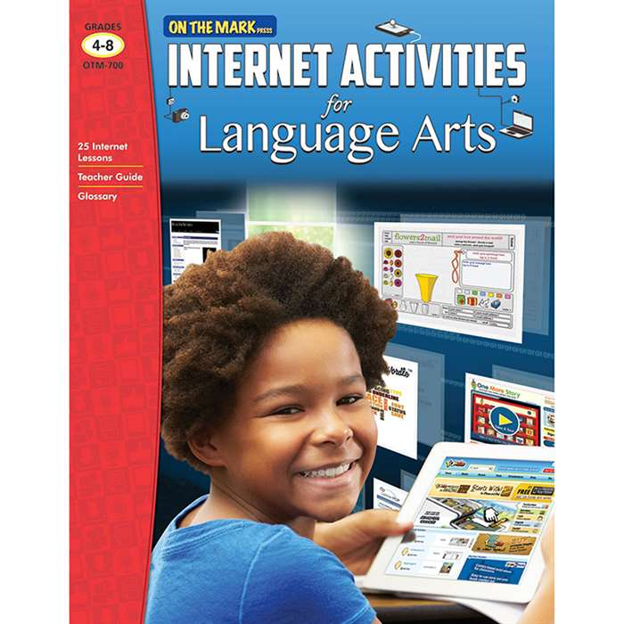 Internet Activities For Language Arts Gr 4-8, OTM700