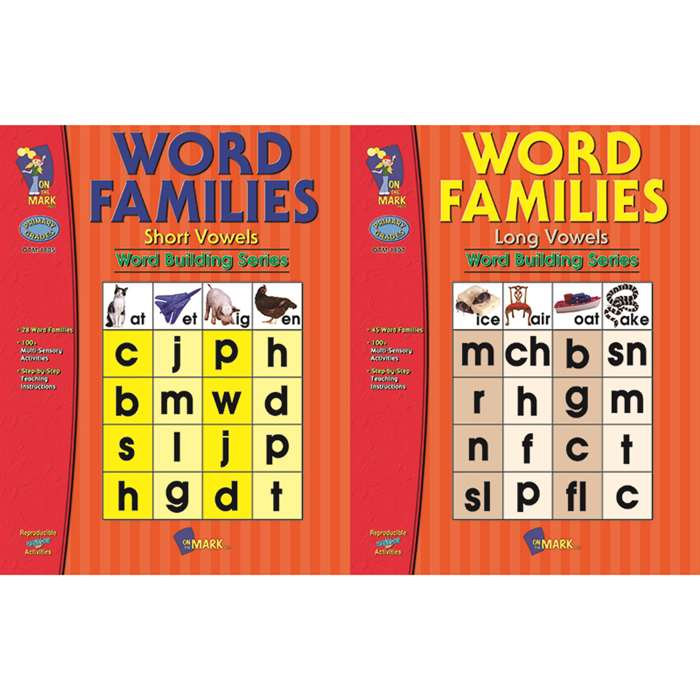 Building Word Families Book Set By On The Mark Press