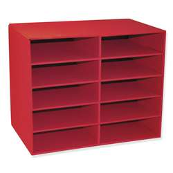 10 Shelf Organizer By Pacon