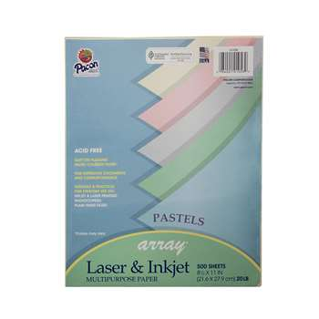 Array Multipurpose 500Sht Pastel Colors Paper By Pacon