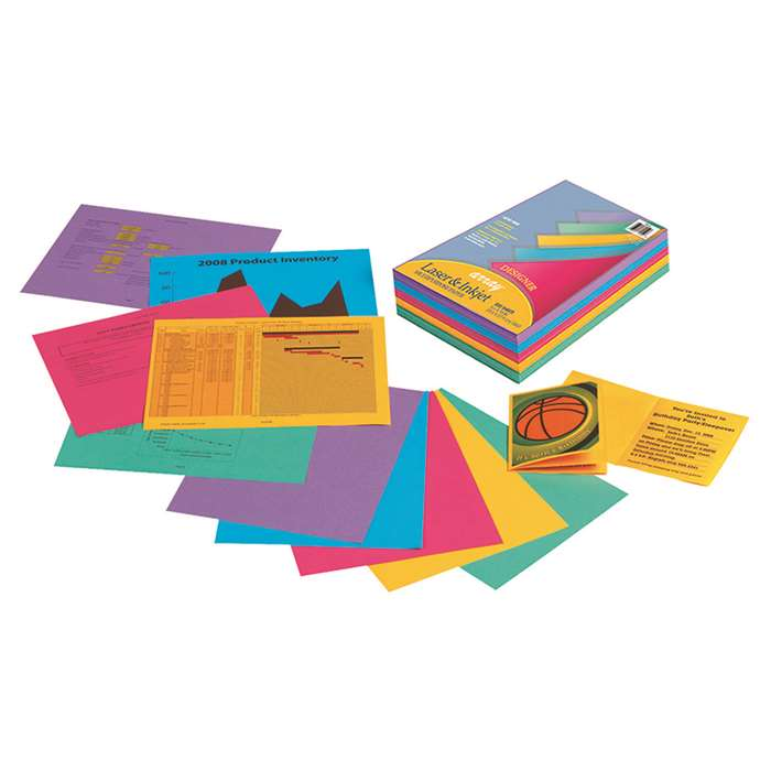 Array Multipurpose Paper Designer Colors By Pacon