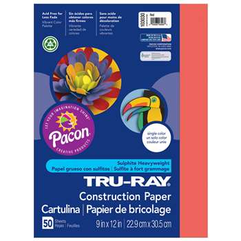 Truray 9X12 Red 50Ct-50 By Pacon