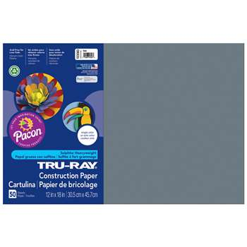 Shop Construction Paper Slate 12X18 - Pac103060 By Pacon