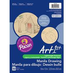 Cream Manila Drawing Paper 9 X 12 50Shts By Pacon