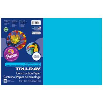 Tru Ray Atomic Blue 12X18 Fade Resistant Construct, PAC103401