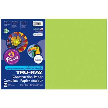 Truray12X18 Br Lime 50-25 By Pacon