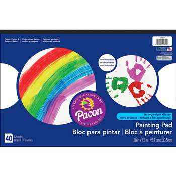 Painting & Marker Pad 18X12 40 Cnt By Pacon