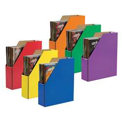 Classroom Keepers 6/Pk Magazine Holder Asstd By Pacon