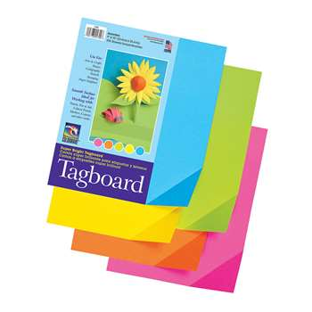 Colorwave Super Bright Tagboard 9 X 12 Inches By Pacon
