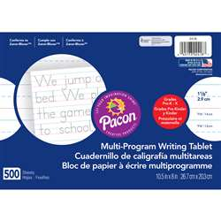 Handwriting Paper 500 Sht 10.5 X 8 1/8 In Rule By Pacon