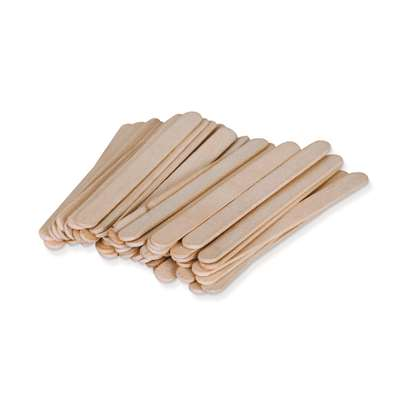 Natural Wood Craft Sticks 100Pcs Small 4 1/2L X 3/8W By Pacon
