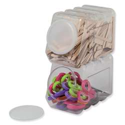 Storage Container W/ Lid Interlocking By Pacon