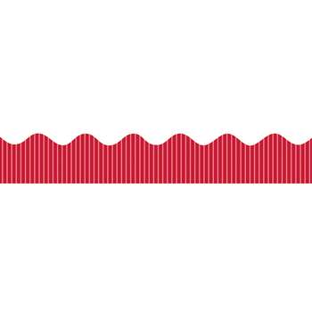 "Metallic Bordette 2 1/4"" X 25' Red By Pacon"