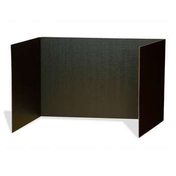 Black Privacy Board 48 X 16 By Pacon