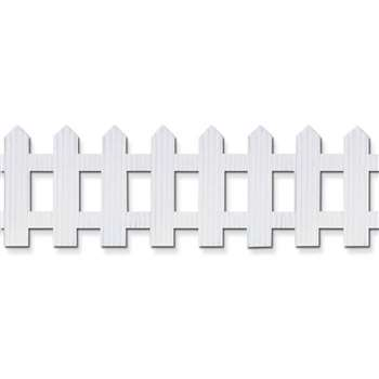 "Picket Fence Roll 6""X16' White By Pacon"