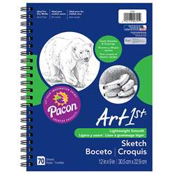 "Art1St Sketch Diary 12"" X 9"" By Pacon"