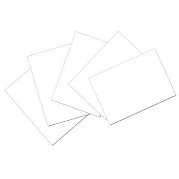 Index Cards 4 X 6 Plain, PAC5142