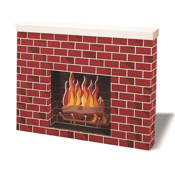 Corrugated Fireplace By Pacon