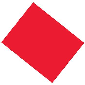 Pacon 22X28 25Sh Red Coated Poster Board, PAC53801