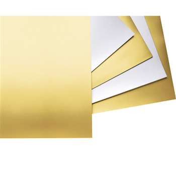 4-Ply Railroad Poster Board Gold By Pacon