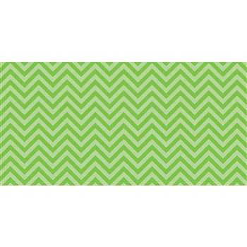 Fadeless 48X50 Lime Chevron Design Roll, PAC55815