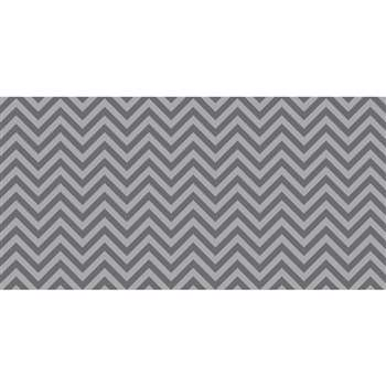 Fadeless 48X50 Gray Chevron Design Roll, PAC55835