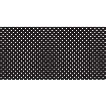 Fadeless 48X50 Classic Dots Black And White Design, PAC55845
