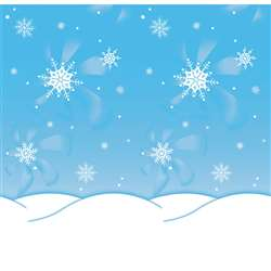Fdls 48 X 12 Winter Time 4 Pk Sold As A Carton Of 4 Rolls By Pacon
