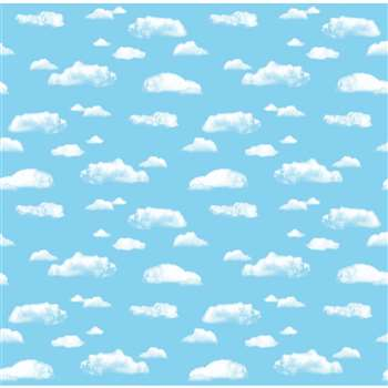 Fdls 48X12 Cloud 4 Pk Sold As A Carton Of 4 Rolls By Pacon